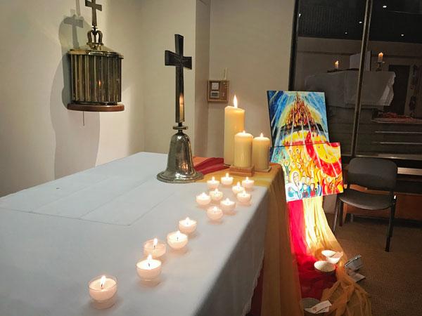 Soirée prière pour l'Effusion de l'Esprit Saint  20/12/17
