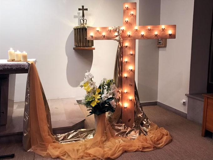 Veillée de louange et d'adoration au pied de la Croix Glorieuse